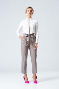 Pantaloni drepti Dames DP090B Gri-Bej