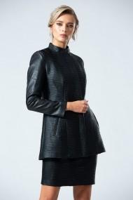 Jacheta eleganta PREMIUM din piele ecologica DP085