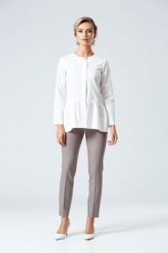 Pantaloni drepti Dames DP091B Gri-Bej