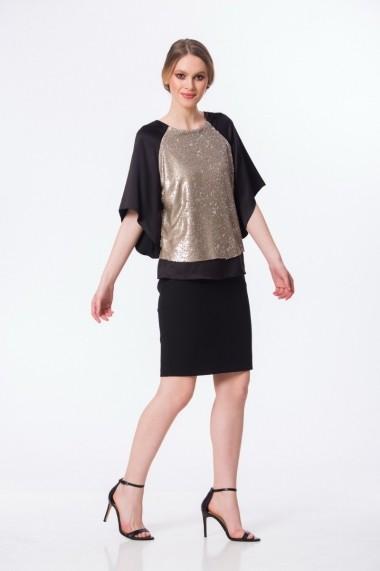 Bluza eleganta cu paiete S418