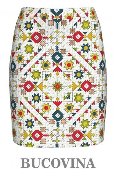Fusta Dames A843B5 Print