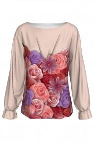 Bluza Dames A842-I3 cu print floral