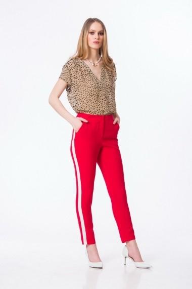 Pantaloni Dames M948R Rosu