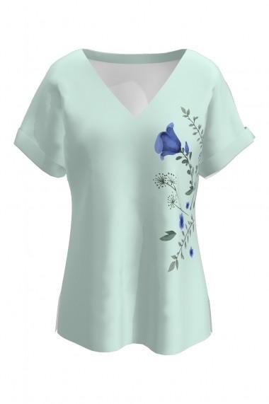 Bluza Dames CMDB33 cu print floral