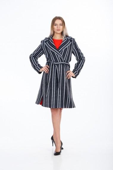 Palton Dames M1003NV Multicolor