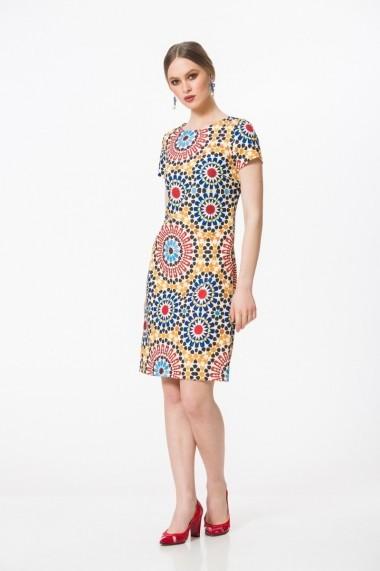 Rochie Dames DS25B Multicolor