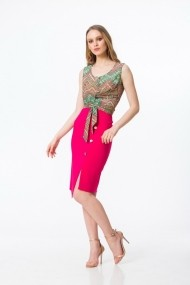 Top Dames A011 Multicolor