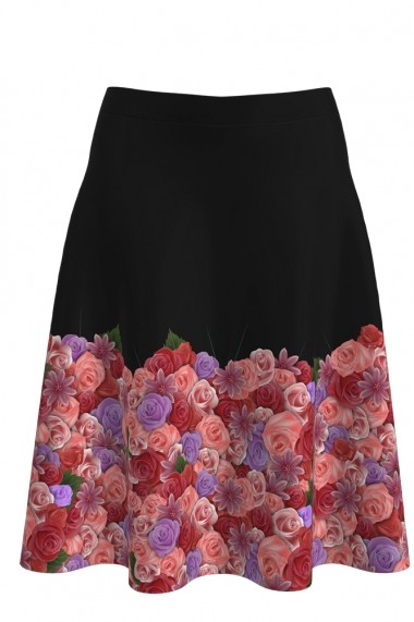 Fusta Dames A817Y25 Floral