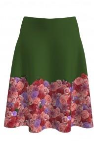 Fusta Dames A817Y40 Floral