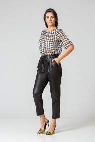 Pantaloni casual cu plii DP158