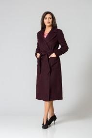 Palton elegant grena DP159