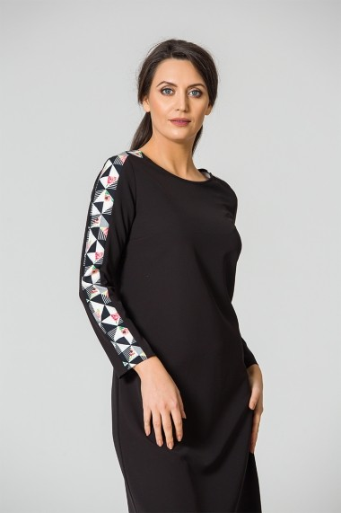 Rochie Dames DM104 Neagra