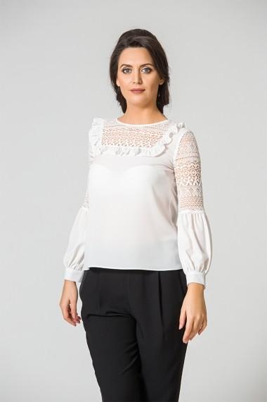 Bluza Dames eleganta cu detalii dantelate DM108