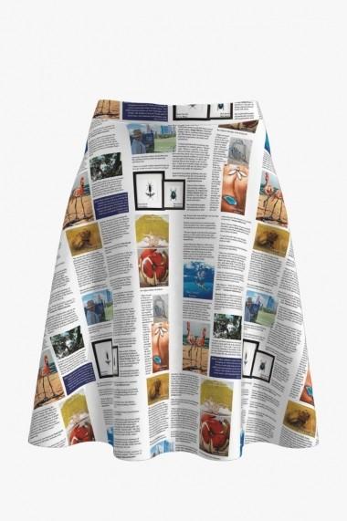 Fusta imprimata digital ziar color DM1902C