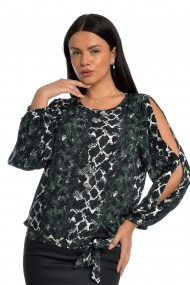 Bluza Dress to Impress BL24AP Animal Print