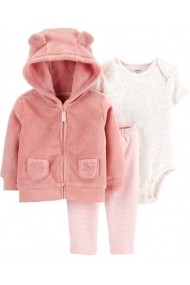 Set 3 piese Carters 18514510 Roz