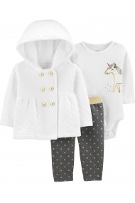 Set 3 piese Carters Unicorn 18551610 Multicolor