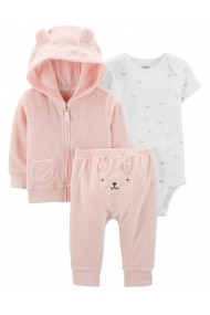 Set 3 piese Carters 17580810 Roz