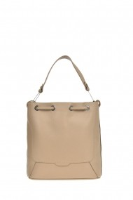Geanta Shopper Carolina di Rosa CR0443Fango Gri-bej