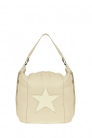 Geanta Shopper Carolina di Rosa CR0478Beige Bej