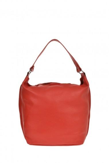 Geanta Shopper Carolina di Rosa CR0478Rosso Rosu
