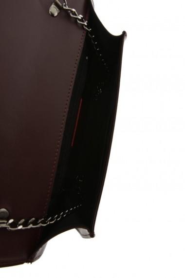Geanta de umar Carolina di Rosa CR6366Vino Bordo