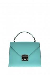 Geanta Tote Carolina di Rosa CR6400Turquoise Turcoaz