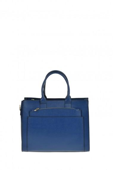Geanta Tote Patrizia Lucchini PL0485Blu Albastru