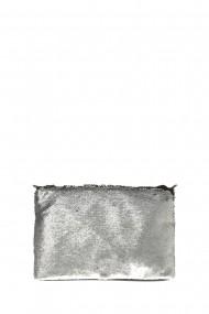 Geanta de umar Patrizia Lucchini PL6059Argento_Nero Argintiu