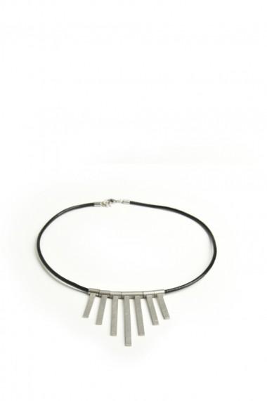 Colier Coal H1101302 Argintiu