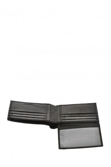 Set portofel si curea Pierro Poggi PP3002-120 Negru