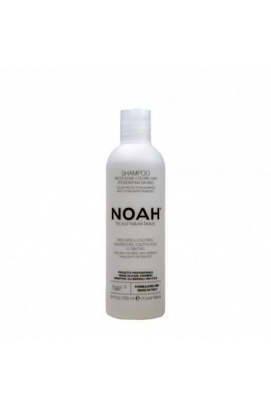 Sampon cu fitocheratina de orez pentru par vopsit (1.6) Noah 250 ml