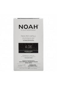 Vopsea de par permanenta 4.06 Saten cafeniu Noah 140 ml