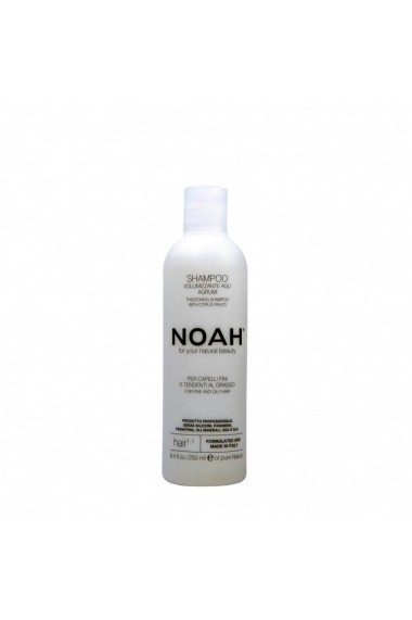 Sampon natural volumizant cu citrice pentru par fin si gras (1.1) Noah 250 ml