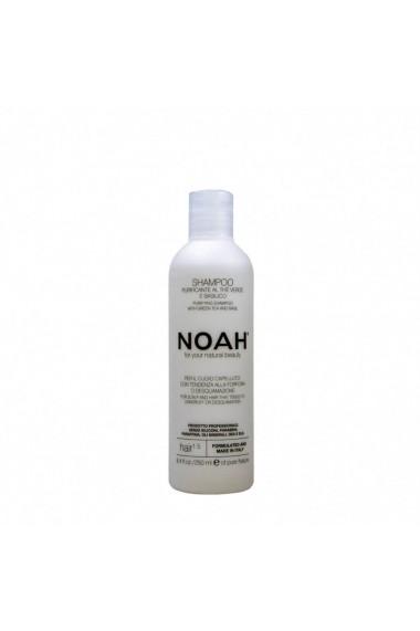Sampon natural purifiant cu ceai verde pentru par cu matreata (1.5) Noah 250 ml
