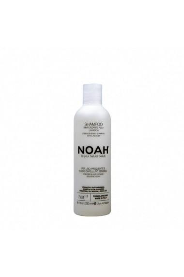 Sampon natural fortifiant cu lavanda pentru uz frecvent si scalp sensibil (1.3) Noah 250 ml