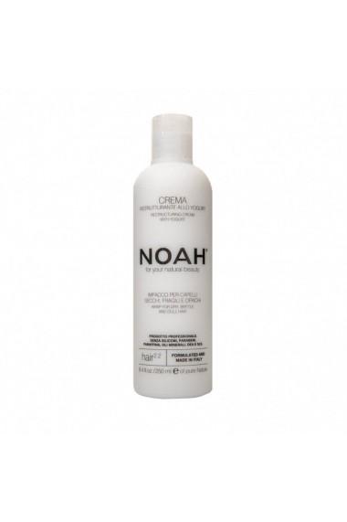 Balsam crema restructurant cu iaurt pentru par uscat fragil si lipsit de stralucire (2.2) Noah 250 ml