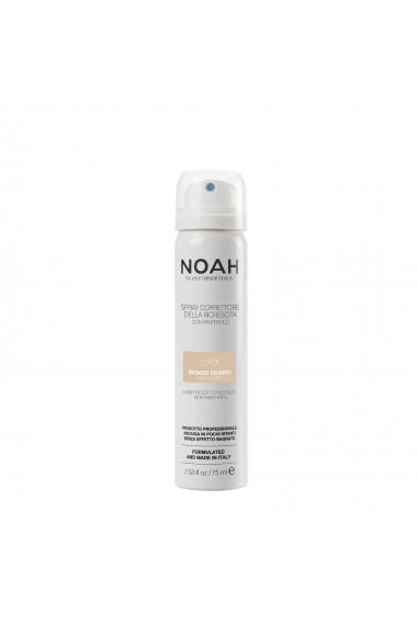Spray corector cu vitamina B5 pentru acoperirea radacinii parului - BLOND DESCHIS  Noah  75 ml
