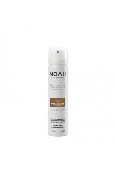 Spray corector cu vitamina B5 pentru acoperirea radacinii parului - CASTANIU DESCHIS  Noah  75 ml