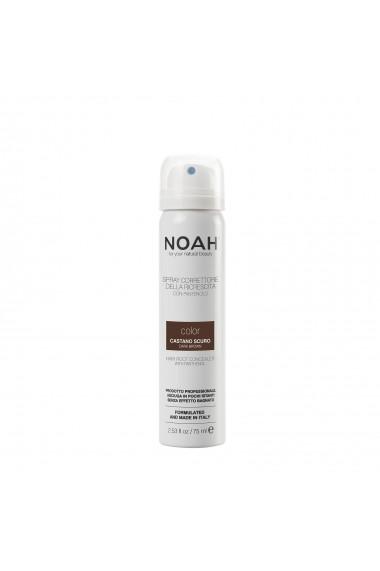 Spray corector cu vitamina B5 pentru acoperirea radacinii parului - CASTANIU INCHIS  Noah  75 ml