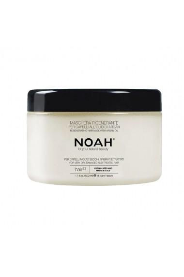 Masca regeneranta cu ulei de argan pentru par foarte uscat(2.3)  Noah  500 ml