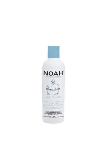 Gel de dus cremos cu lapte & zahar pentru copii   Noah  250 ml