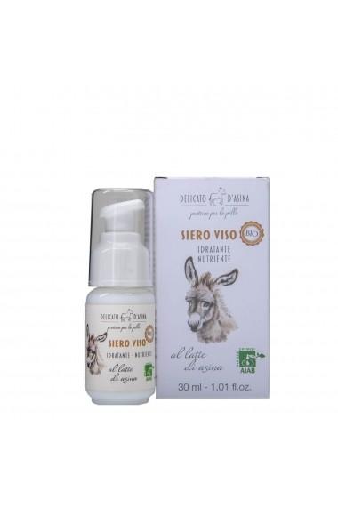 Serum facial hidratant si regenerant cu lapte de magarita BIO La Dispensa 30 ml