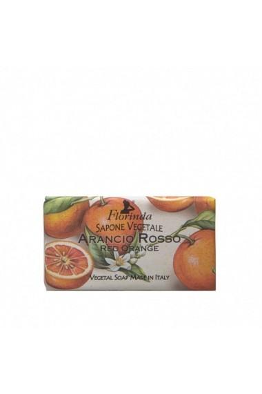 Sapun vegetal cu portocale rosii Florinda La Dispensa 100g