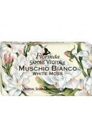 Sapun vegetal cu mosc alb Florinda 100 g La Dispensa