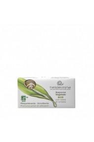 Sapun vegetal cu extract de melc Helidermina 100 g La Dispensa
