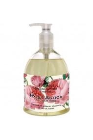 Sapun lichid vegetal hidratant cu Rosa Antica si ulei de Jojoba Florinda 500 ml La Dispensa