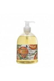 Sapun lichid vegetal hidratant cu portocale rosii si ulei de Jojoba Florinda 500 ml La Dispensa