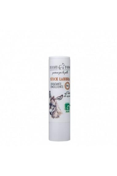 Lip Stick hidratant si reparator BIO cu lapte de magarita La Dispensa 15 ml