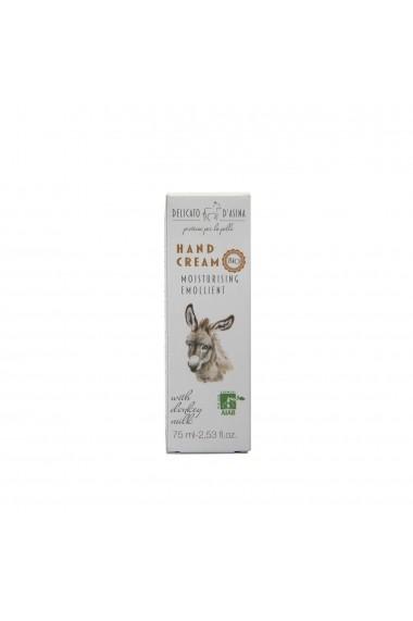 Crema de maini cu lapte de magarita BIO La Dispensa 75 ml